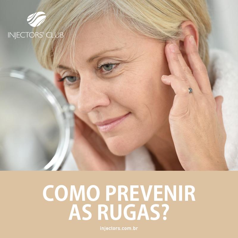 Como prevenir rugas?